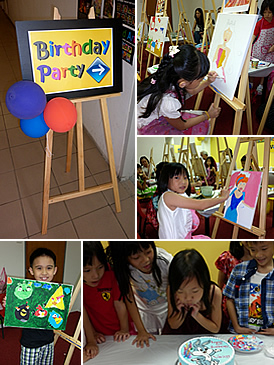 kids birthday party ideas singapore